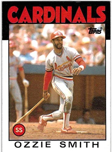 (1986 Topps with Traded St Louis Cardinals Team Set with 3 Vince Coleman RC & 2 Ozzie Smith - 37 MLB Cards)