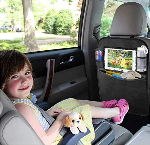 Wasserdicht R/ückenlehnenschutz Auto R/ücksitz Organizer f/ür Kinder Multifunktionen R/ückenlehnen-Tasche mit iPad-Tablet-Halter Kick-Matten-Schutz f/ür Auto 2 St/ück Auto R/ückenlehnenschutz