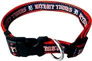 MLB Detroit Tigers Dog Collar, Large