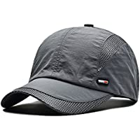 FayTop Unisex Baseball Hat Sun Cap Lightweight Mesh Quick Dry Outdoor Sports Running Baseball Caps For Women and Men E61B006-US