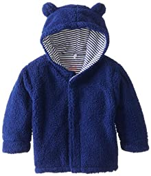Magnificent Baby Baby-Boys Infant Hooded Bear Jacket, Blueberry, 6-12 Months