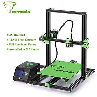 Tornado 3D,impresora totalmente montado aluminio extrusión 300 ...