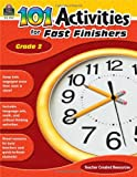 101 Activities for Fast Finishers Grd 2, Teacher Created Resources Staff, 1420629379