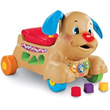 Cachorro para pasear y montar Laugh and Learn de Fisher-Price