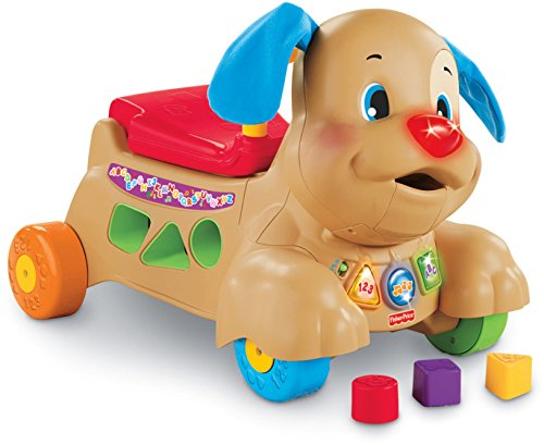 Fisher-Price Laugh & Learn Stride-to-Ride Puppy [Amazon Exclusive] (Puppy Infant)