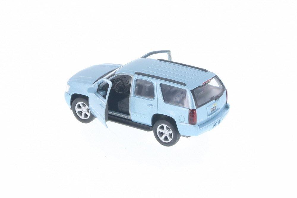 5 Long Diecast Model Toy Car but NO BOX Metallic Light Blue 43607D 5 Long Diecast Model Toy Car but NO BOX . Metallic Light Blue 43607D Welly 2008 Chevy Tahoe