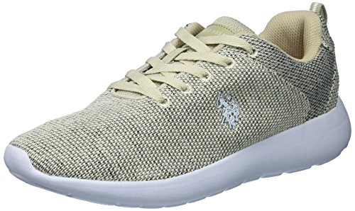 Us Polo Assn. Kvinna Kvinnor Debi-k Oxford Tan