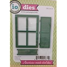 Impression Obsession io Steel Die # DIE104-X Window With Shutter Die US American Made