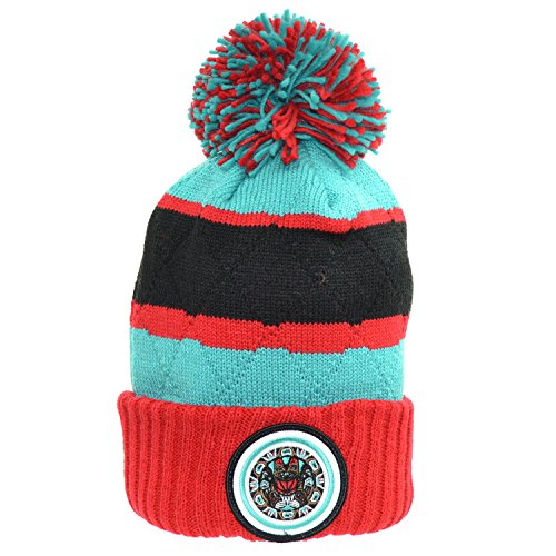 Mitchell & Ness Winter Hat Vancouver Grizzlies Red/Blue/Black ks48z-5vgriz (Size - Vancouver Outlets