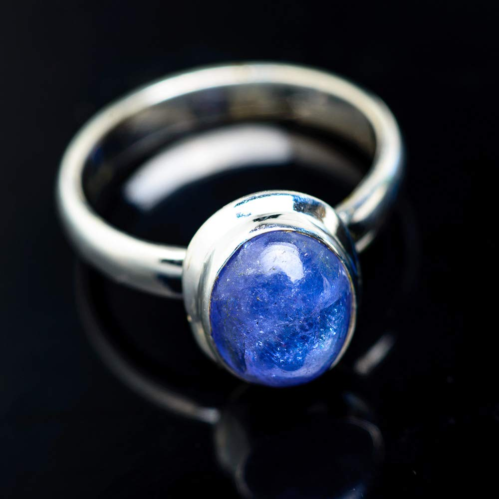 Ana Silver Co Natural Tanzanite Ring Size 7 Bohemian 925 Sterling Silver Vintage RING945142 - Handmade Jewelry