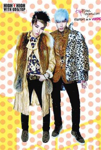 TOP and G-Dragon BIG BANG Boy Band Kpop Wall Decoration Poster Bigbang#021