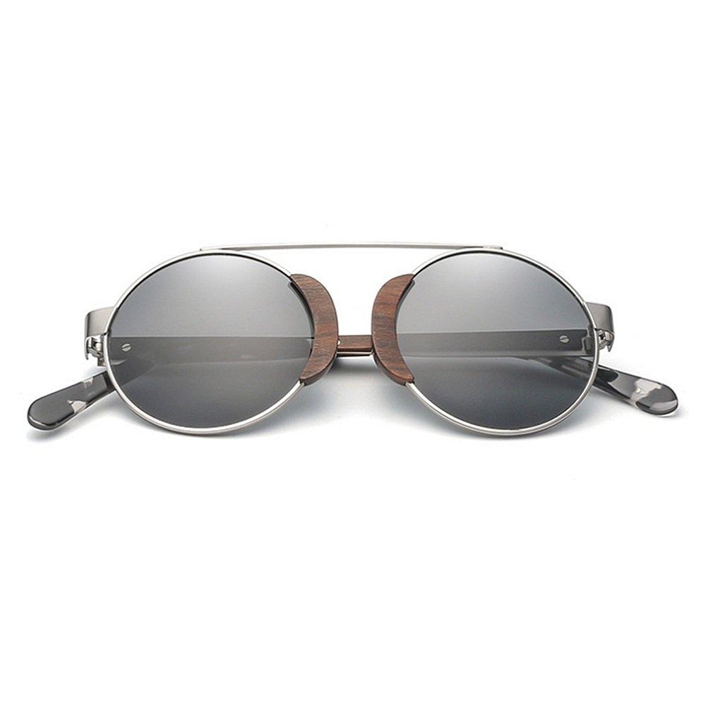 Gafas de sol Classic polarizadas de gafas madera marco de la ...
