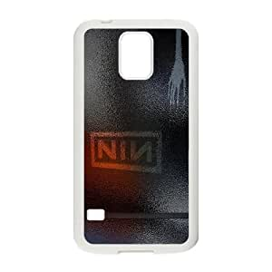 Nine Inch Nails Samsung Galaxy S5 Cell Phone Case White phone component AU_492054