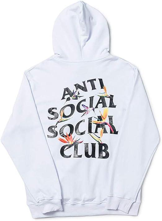 anti social social club hoodie weiß