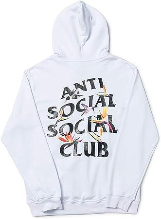 Anti Social Social Club Bunter Vogel Hoodie Print Pullover