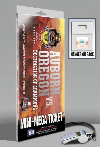 (2011 BCS Championship Game Mini-Mega Ticket - Auburn Tigers)