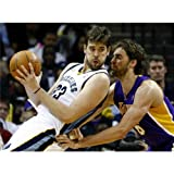 Marc Gasol Poster by Silk Printing # Size about (81cm x 60cm, 32inch x 24inch) # Unique Gift # EA5E09