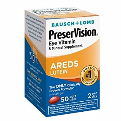 Bausch & Lomb PreserVision Eye Vitamin & Mineral Supplements