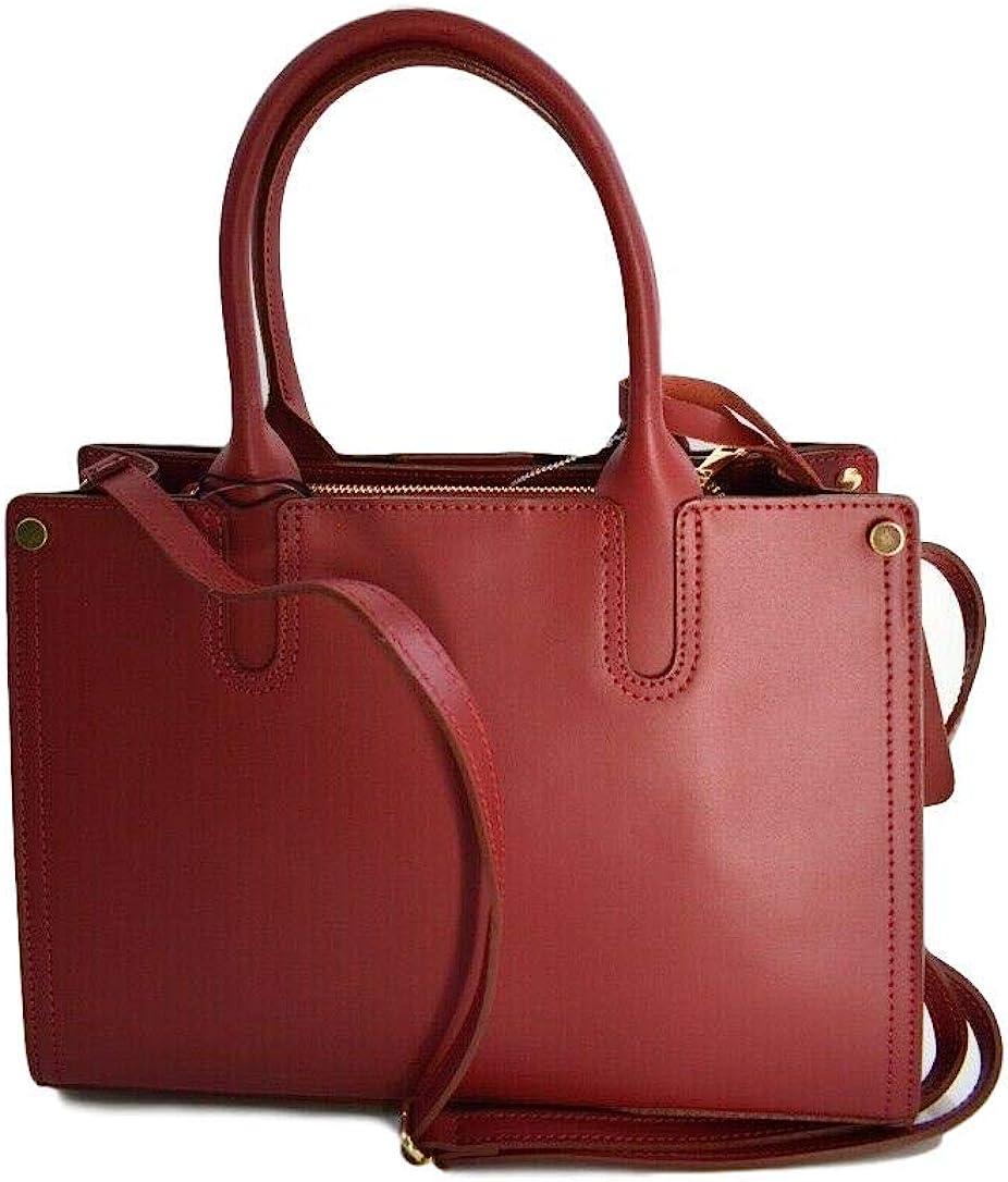 Borse I Bag.Borse In Pelle Italian Leather Satchel Womens Handbags Top Handle Bags Handbags Amazon Com