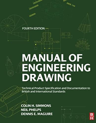 manual of engineering drawing fourth edition technical product rh amazon com ISO Standard Symbols ISO Drafting Standards PDF