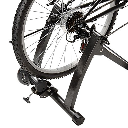 - Portable Indoor Exercise Magnetic Resistance Bicycle Trainer Bike Stand Bicycle Accessories