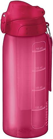 Squeeze 750Ml com Tubo de Gelo, Soprano, 0540, Rosa, Pequeno