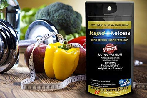 EXTRA STRENGTH RapidKetosis Premium Exogenous Ketone Supplement - LOSING WEIGHT & GETTING INTO KETOSIS WAS NEVER FASTER OR EASIER!