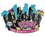 BirthdayExpress Superhero Girl Party Supplies - Centerpiece