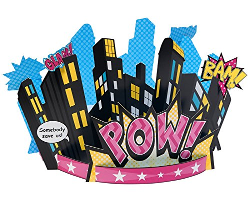 Superhero Girl Party Supplies Centerpiece product image