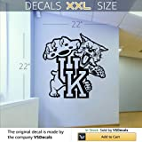 NCAA Wall Mural Vinyl Sticker Sports Logos Kentucky Wildcats (S328) FRST