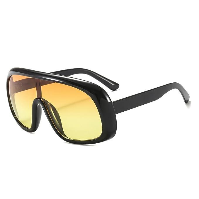 Amazon.com: Gafas de sol clásicas de Aviator de gran tamaño ...