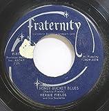 Herbie Fields 45 RPM Honey Bucket Blues / Tiny Kahn