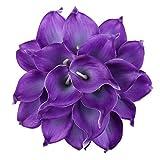 Leagel Calla Lily Bridal Wedding Bouquet Head