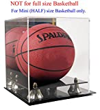 7' MINI Basketball Display Case Stand with Mirror, UV Protection, AC-BB17
