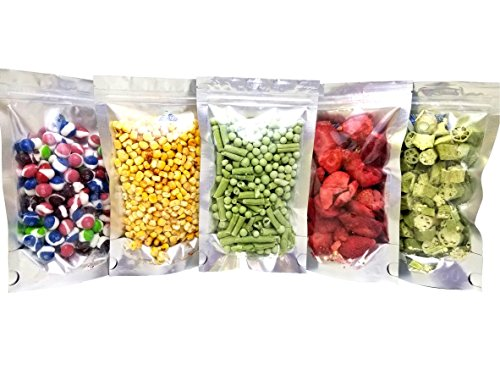 Clear Front Resealable Mylar Bags - 5 Mil - 5