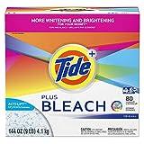 Proctor & Gamble Tide Plus Bleach with Acti-Lift Crystals Original Powder, 2-144 oz bx/cs