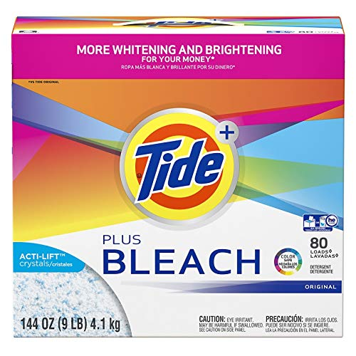 Proctor & Gamble Tide Plus Bleach with Acti-Lift Crystals Original Powder, 2-144 oz bx/cs by Proctor & Gamble