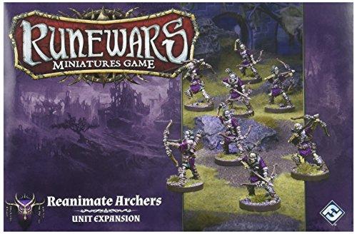 Runewars: Miniature Game - Reanimate Archers Unit Expansion - Archer Unit