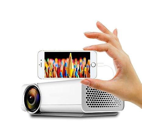 WF 1800 Lúmenes HD 3D Proyector para El Hogar, LED Portátil para ...
