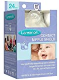 Lansinoh Contact Nipple Shields, 2 Count (3 Pack)