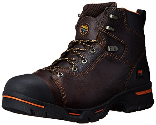 Timberland PRO Men's Endurance 6-Inch Soft Toe BR Work Boot,Briar,8 W US by Timberland PRO (Image #1)