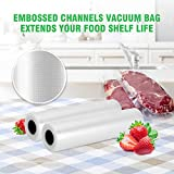 KOIOS Vacuum Sealer Bags for Food Saver Vacuum
