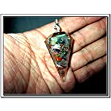 "Thick Orgone Pendulum 1 Healing 2"" Crystal Chakra Chain Natural Piezoelectric Cleansing"