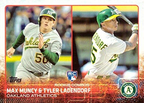 2015 Topps Update Baseball #US54 Max Muncy/Tyler Ladendorf Rookie Card
