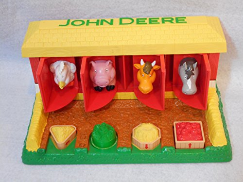 John Deere Barn (John Deere Pop Up Barn Animals Toy)