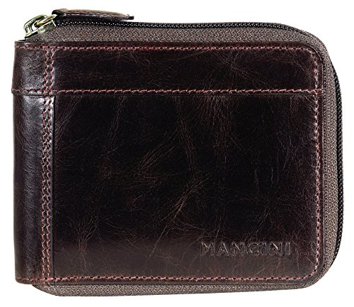 mancini-106159-bn-rfid-secure-mens-zippered-wallet-with-removable-passcase-brown-under-seat