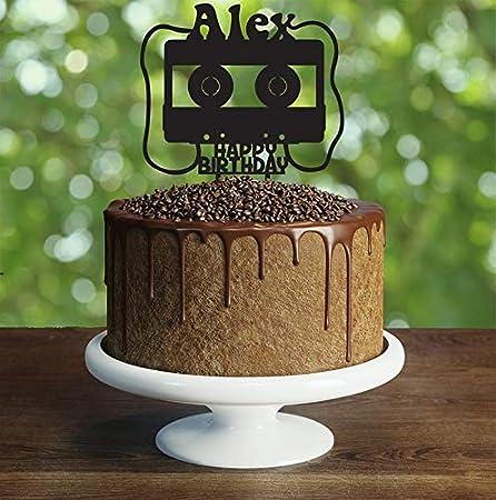 Decoración para tarta de cumpleaños de los años 90 ...