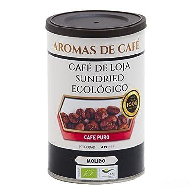 Aromas de Café - Café de Loja Sundried en Grano Ecológico Sabor Chocolate Picante/Café de Ecuador, 100 gr.: Amazon.es: Alimentación y bebidas