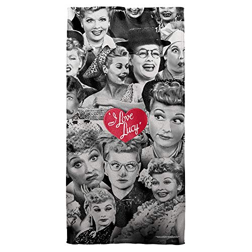 Trevco I Love Lucy Faces Towel (30x60) ()