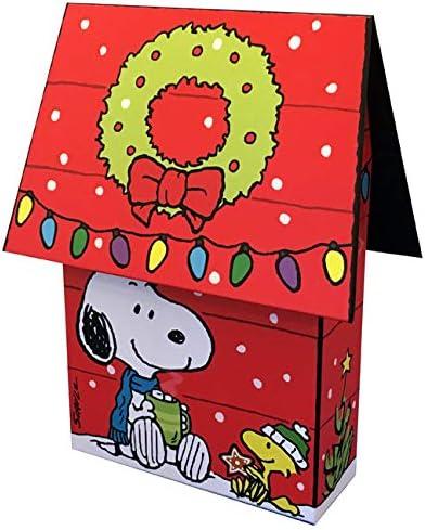 Peanuts Snoopy y Woodstock Casa de perro 3D Caja de recuerdo ...
